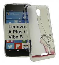billigamobilskydd.se TPU-Designkotelo Lenovo B / Vibe B