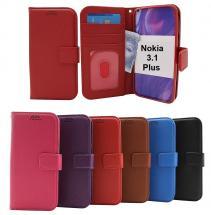 billigamobilskydd.se New Jalusta Lompakkokotelo Nokia 3.1 Plus