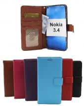 billigamobilskydd.se New Jalusta Lompakkokotelo Nokia 3.4