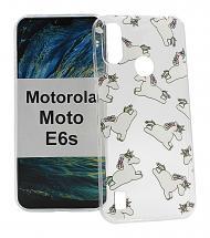 billigamobilskydd.se TPU-Designkotelo Motorola Moto E6s