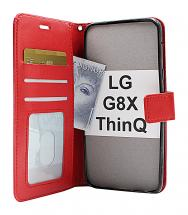 billigamobilskydd.se Crazy Horse Lompakko LG G8X ThinQ (LMG850)