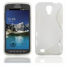 billigamobilskydd.se S-Line TPU-muovikotelo Samsung Galaxy S4 Active (i9295)
