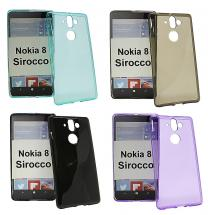 billigamobilskydd.se TPU-suojakuoret Nokia 8 Sirocco