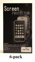 billigamobilskydd.se Kuuden kappaleen näytönsuojakalvopakett Samsung Galaxy Trend (S7560)