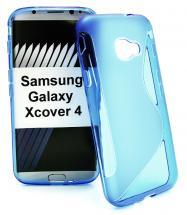 billigamobilskydd.se S-Line TPU-muovikotelo Samsung Galaxy Xcover 4 (G390F)