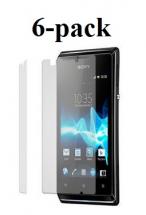 billigamobilskydd.se Kuuden kappaleen näytönsuojakalvopakett Sony Xperia E