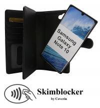 billigamobilskydd.se Skimblocker XL Magnet Wallet Samsung Galaxy Note 10 (N970F/DS)