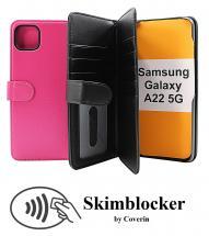 CoverIn Skimblocker XL Wallet Samsung Galaxy A22 5G (SM-A226B)