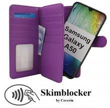 CoverIn Skimblocker XL Magnet Wallet Samsung Galaxy A50 (A505FN/DS)