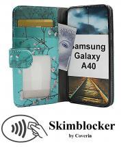 CoverIn Skimblocker Kuviolompakko Samsung Galaxy A40 (A405FN/DS)
