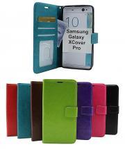 billigamobilskydd.se Crazy Horse Lompakko Samsung Galaxy XCover Pro (G715F/DS)