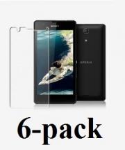 billigamobilskydd.se Sony Xperia ZR Skærmbeskyttelse (6 stk.) (C5503,M36h)