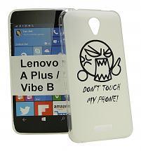 billigamobilskydd.se TPU-Designkotelo Lenovo B / Vibe B (A2016a40)