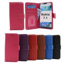 billigamobilskydd.se New Jalusta Lompakkokotelo Nokia 7.1