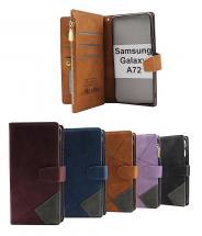 billigamobilskydd.se XL Standcase Luxwallet Samsung Galaxy A72 (SM-A725F/DS)