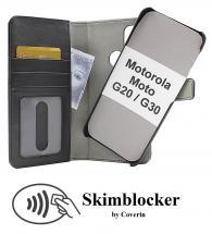 CoverIn Skimblocker Magneettikotelo Motorola Moto G20 / Moto G30
