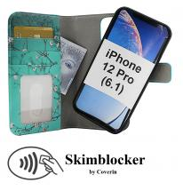 CoverIn Skimblocker Design Magneettilompakko iPhone 12 Pro (6.1)