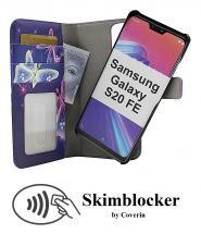 CoverIn Skimblocker Design Magneettilompakko Samsung Galaxy S20 FE / S20 FE 5G