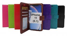 billigamobilskydd.se Crazy Horse Lompakko iPhone 11 (6.1)