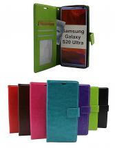 billigamobilskydd.se Crazy Horse Lompakko Samsung Galaxy S20 Ultra (G988B)