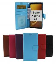 billigamobilskydd.se New Jalusta Lompakkokotelo Sony Xperia Z3 (D6603)
