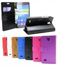 billigamobilskydd.se Jalusta Lompakkokotelo Huawei Y5 (Y560)