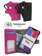 CoverIn Skimblocker Magneettikotelo Motorola One