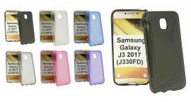 billigamobilskydd.se S-Line TPU-muovikotelo Samsung Galaxy J3 2017 (J330FD)
