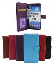 billigamobilskydd.se New Jalusta Lompakkokotelo Huawei P Smart 2021
