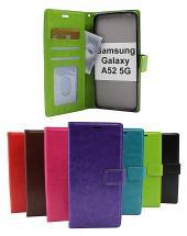 billigamobilskydd.se Crazy Horse Lompakko Samsung Galaxy A52 / A52 5G / A52s 5G