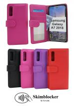 billigamobilskydd.se Skimblocker Lompakkokotelot Samsung Galaxy A7 2018 (A750FN/DS)