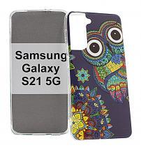 billigamobilskydd.se TPU-Designkotelo Samsung Galaxy S21 5G (G991B)