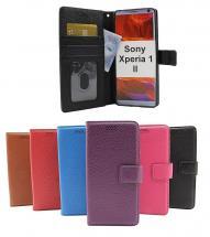 billigamobilskydd.se New Jalusta Lompakkokotelo Sony Xperia 1 II (XQ-AT51)