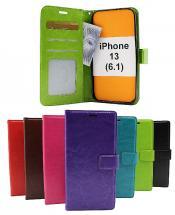 billigamobilskydd.se Crazy Horse Lompakko iPhone 13 (6.1)