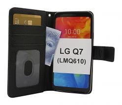 billigamobilskydd.se New Jalusta Lompakkokotelo LG Q7 / LG Q7 Plus (LMQ610)