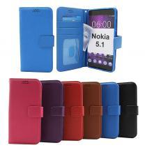 billigamobilskydd.se Jalusta Lompakkokotelo Nokia 5.1