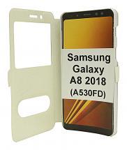billigamobilskydd.se Flipcase Samsung Galaxy A8 2018 (A530FD)