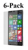 billigamobilskydd.se Kuuden kappaleen näytönsuojakalvopakett Nokia Lumia 830
