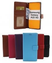 billigamobilskydd.se New Jalusta Lompakkokotelo Samsung Galaxy A22 5G (SM-A226B)