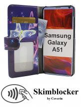CoverIn Skimblocker Kuviolompakko Samsung Galaxy A51 (A515F/DS)