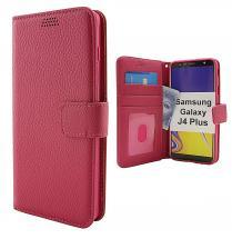 billigamobilskydd.se New Jalusta Lompakkokotelo Samsung Galaxy J4 Plus / J4+ (J415FN/DS)