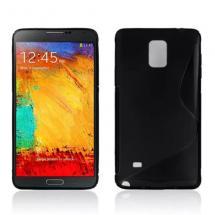 billigamobilskydd.se S-Line TPU-muovikotelo Samsung Galaxy Note 4 (N910F)