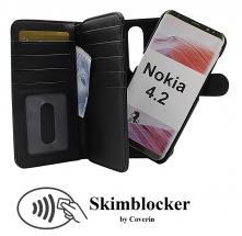 CoverIn Skimblocker XL Magnet Wallet Nokia 4.2