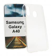 billigamobilskydd.se TPU muovikotelo Samsung Galaxy A40 (A405FN/DS)