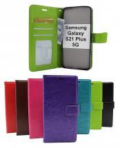 billigamobilskydd.se Crazy Horse Lompakko Samsung Galaxy S21 Plus 5G (G996B)