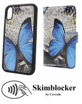 billigamobilskydd.se Skimblocker Design Magneettilompakko iPhone XR