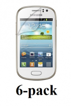 billigamobilskydd.se Kuuden kappaleen näytönsuojakalvopakett Samsung Galaxy Fame