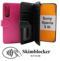 CoverIn Skimblocker XL Wallet Sony Xperia 5 III (XQ-BQ52)