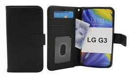 billigamobilskydd.se New Jalusta Lompakkokotelo LG G3 (D855)