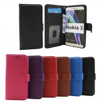 billigamobilskydd.se Jalusta Lompakkokotelo Nokia 3 (TA-1032)